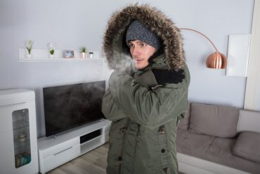 Casa sin calefactor