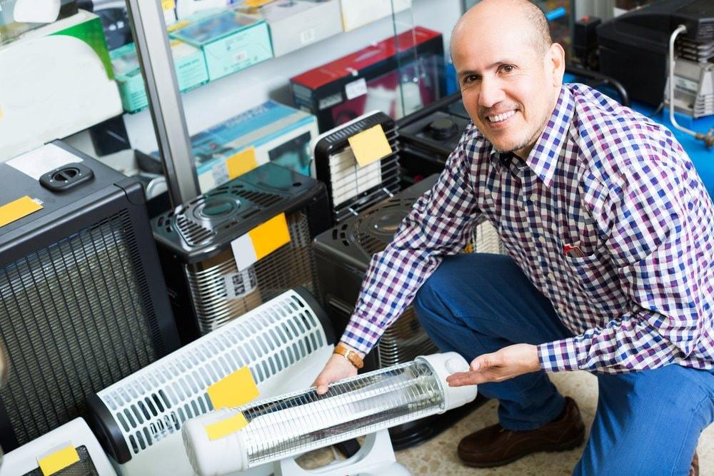 Comprando calefactor