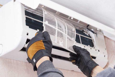 Mantenimiento de sistema de aire acondicionado
