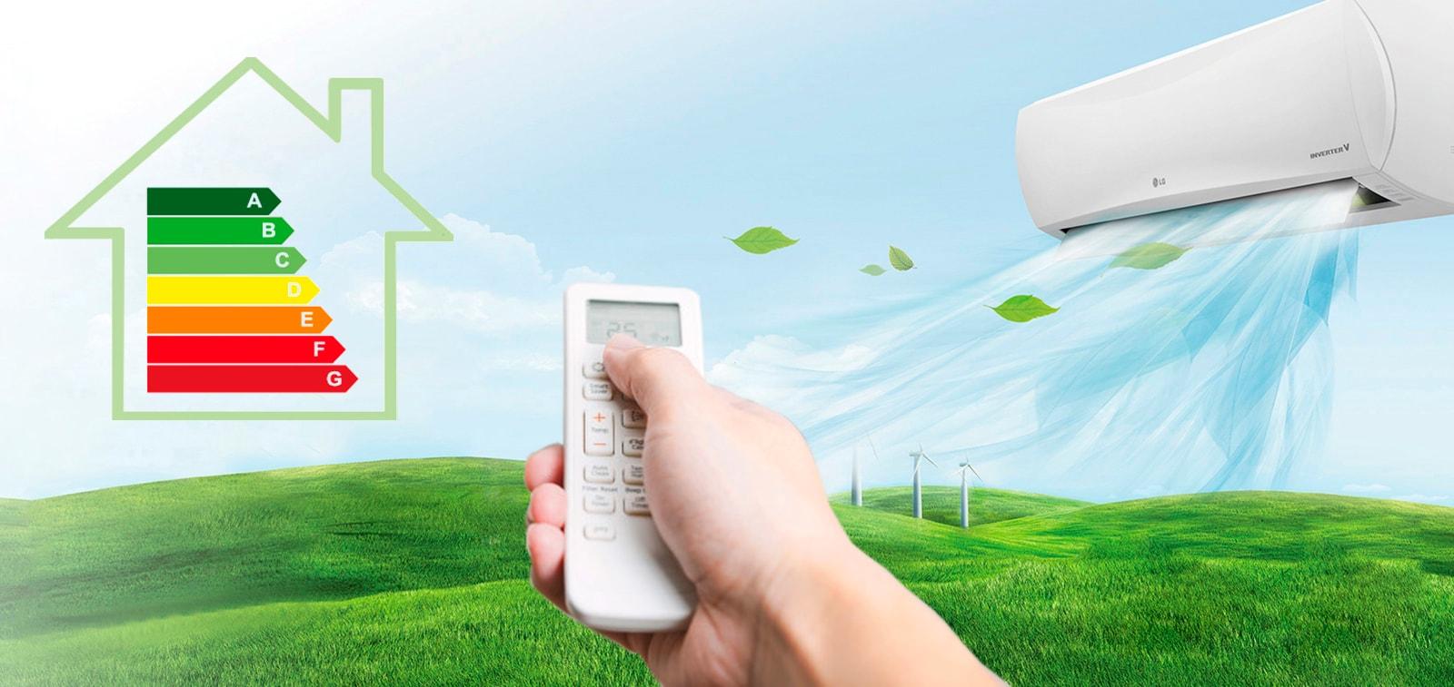eer y cop eficiencia del aire acondicionado