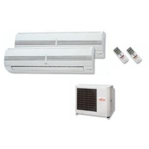 equipo fujitsu split 2x1 aire acondicionado ofertado en oferta aire acondicionado