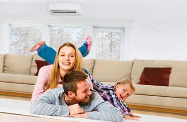 Usar aire acondicionado con bomba de calor en invierno